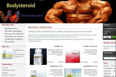 site qui vends des stéroïdes anabolisants